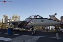 158978 NH-105 - 39 - US Navy - Grumman F-14A Tomcat - USS Midway Museum San Diego, California - 141223 - Steven Gray - IMG_6564