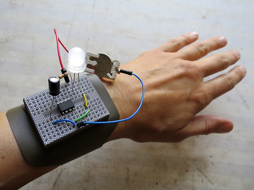 Breadboard or Pincushion Bracelet