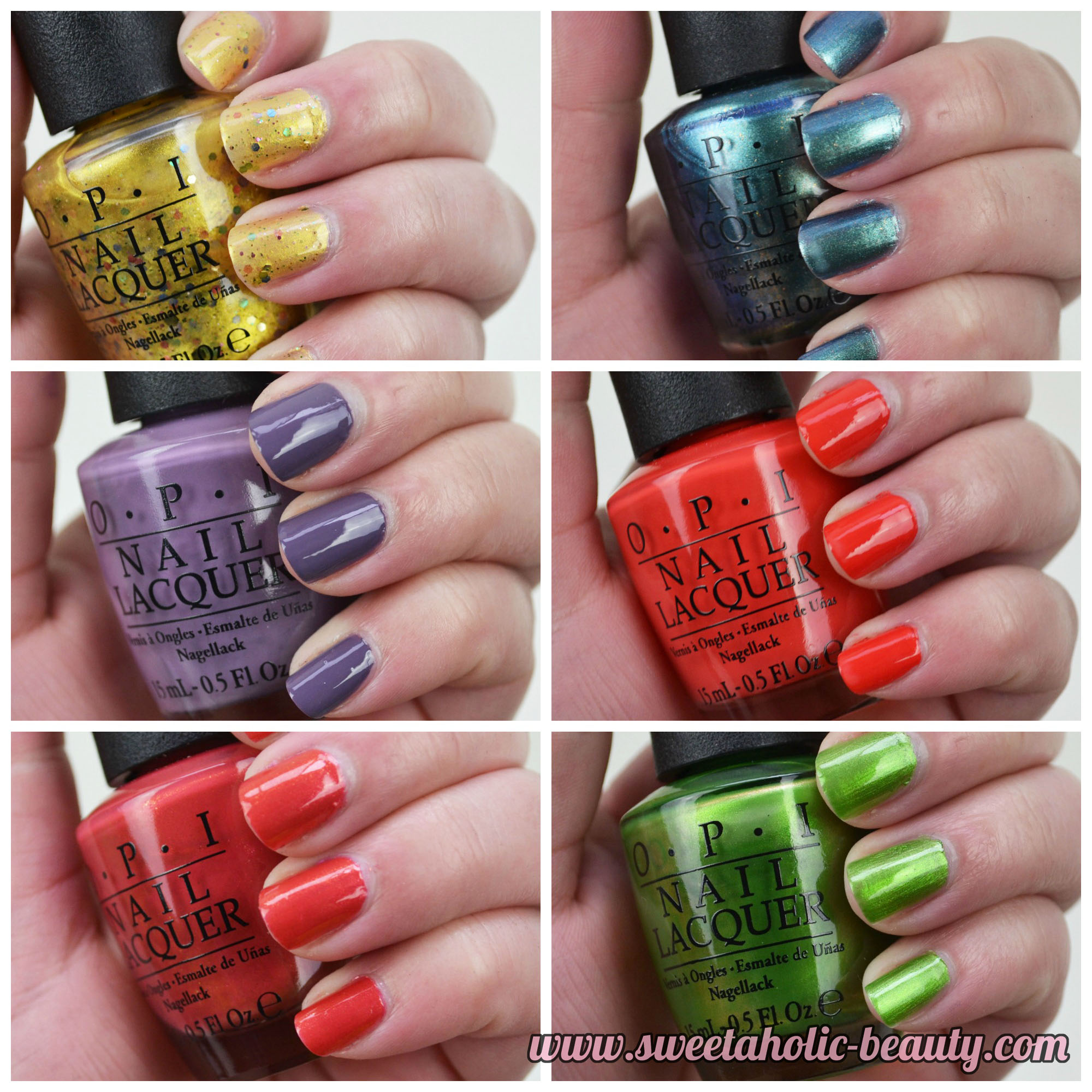 OPI, OPI Hawaii Collection, Hawaii, Manicure, Mani, NOTD, OPI Hawaii,