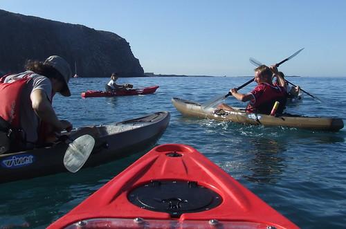 Over Keel Kayak Tenerife
