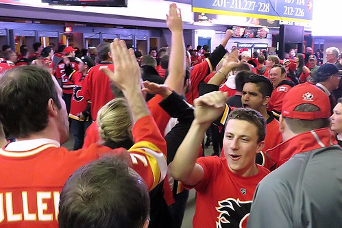 C of Red in Saddledome Concourse
