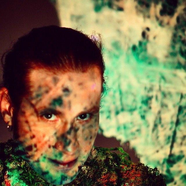 soon. #mua #makinvideos #rocknroll #specialfx #atsea2015 #montageofheck #nirvana #comingsoon