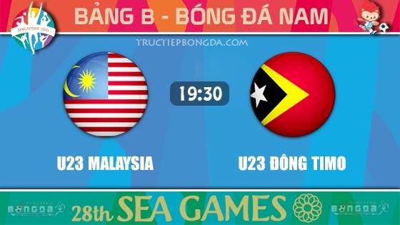 U23 Malaysia vs U23 Đông Timo