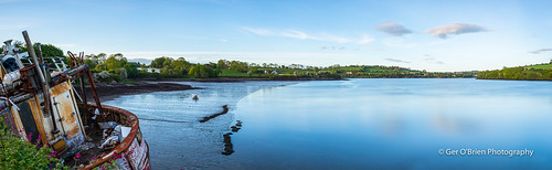 longexposure ireland sky panorama irish seascape motion water clouds reflections river landscape boat nikon pano cork panoramic eire kinsale slowshutter bandon 1635 2015 ndfilter d610 neutraldensity leefilters project52 riverbandon gradfilters littlestopper