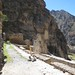 On the Ollantaytambo fortress ruins