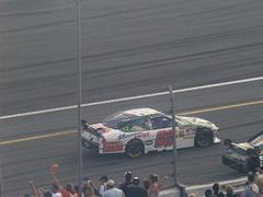 3 Dale Earnhardt Jr. on the pace lap in Daytona 500