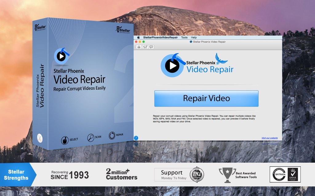 stellar phoenix video repair software with crack tutorial