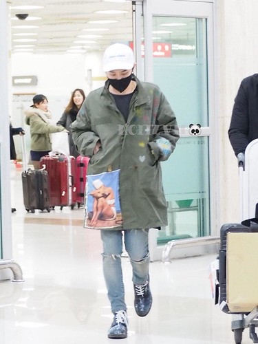 G-Dragon - Gimpo Airport - 02mar2015 - NoiizVip - 01