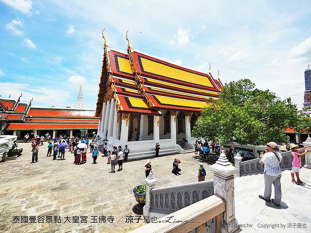 泰國曼谷景點 大皇宮 玉佛寺 19
