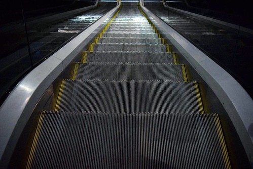 Watch your step  #nofilter #watchyourstep #NikonD3300 #D3300 #escalator