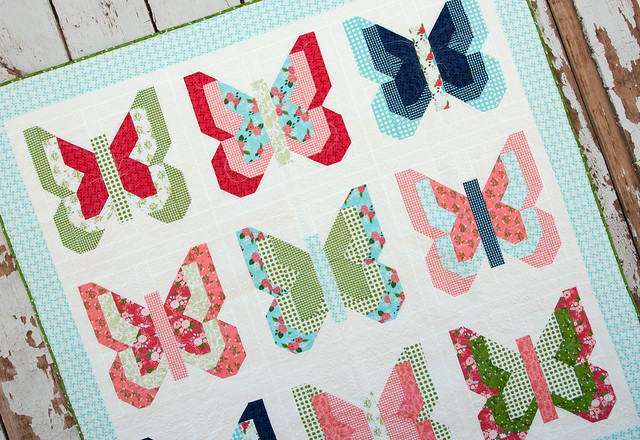 social butterfly quilt