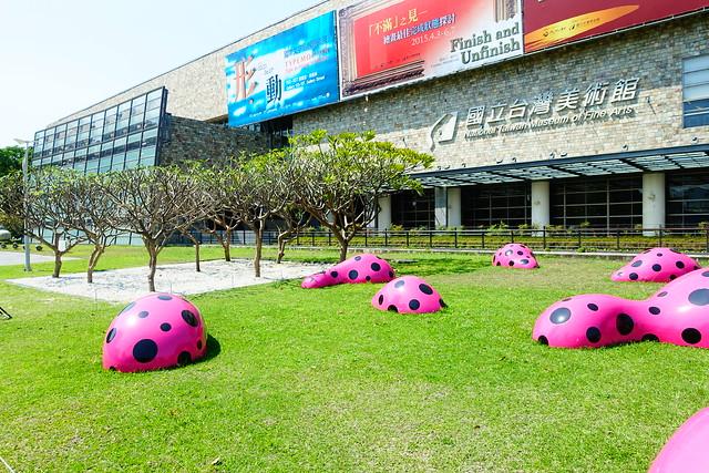 DSC11016 - 國立台灣美術館 草間彌生 生命的足跡