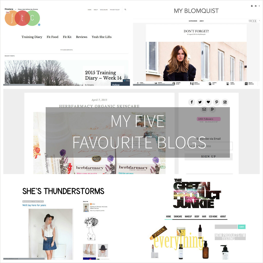 Favourite Blogs