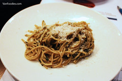 Spaghettini with Chef Lynn's Pesto Sauce