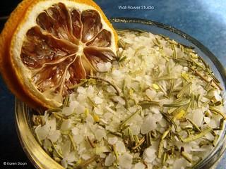 Citrus and Rosemary BBQ rub