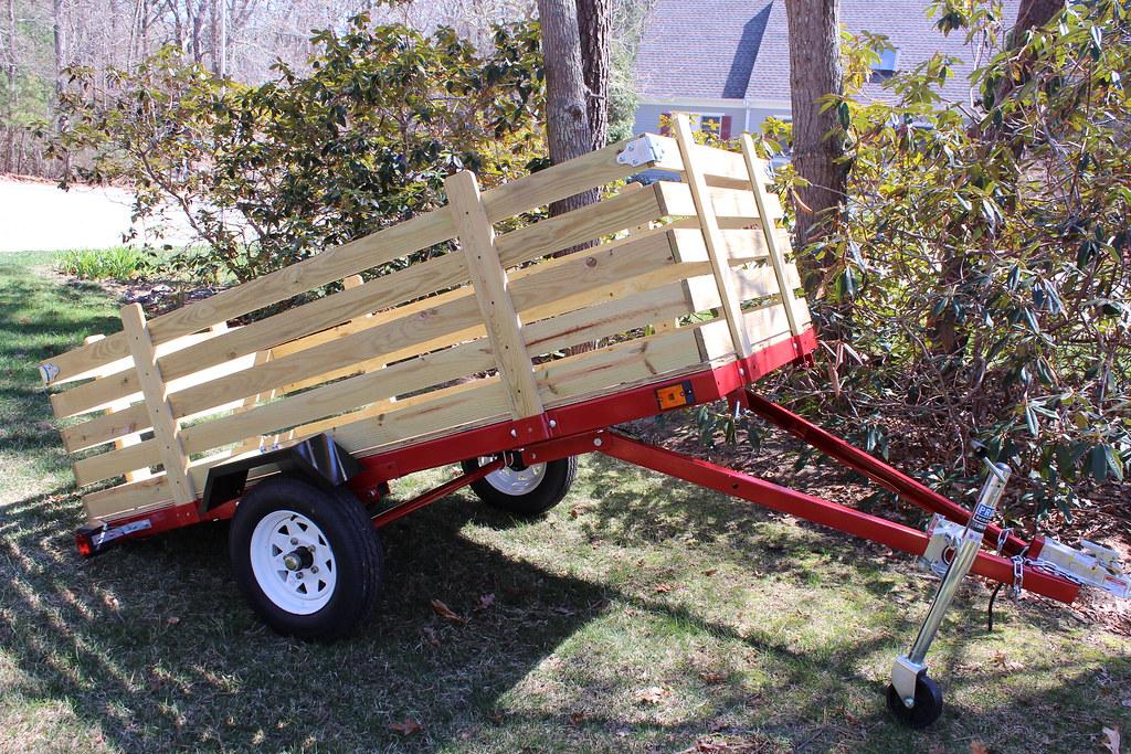 Shipping A Car >> 1720 Lb.Capacity H Duty 4X8 Utility Tilting Car Trailers (… | Flickr