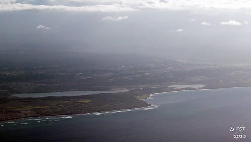 island puertorico flight aerialview aerial naturereserve unitedairlines windowseat zeesstof houstontopuertorico lagunatortugueronaturereserve