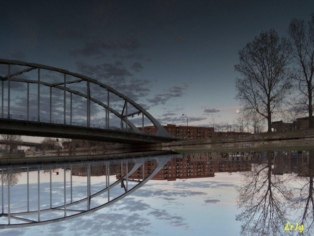 Monk bridge Montreal