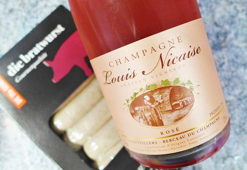Champagne Louis Nicais brut rose