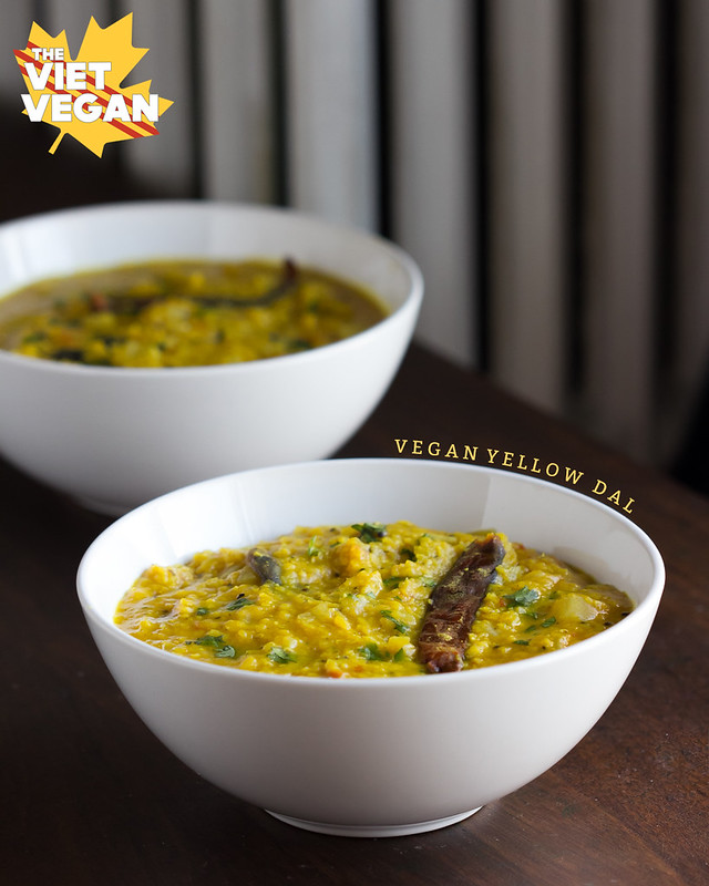 Vegan Yellow Dal | The Viet Vegan | Warming spices, big flavour, and cheap to make