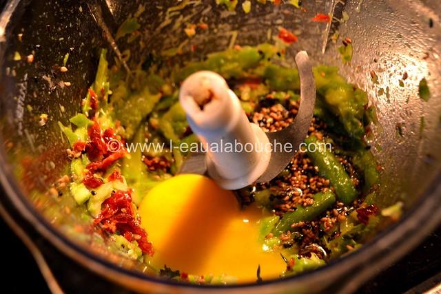 Tartine aux Oeufs  & Anchois sur  Mayonnaise d'Asperges © Ana Luthi  Tous droits réservés 011