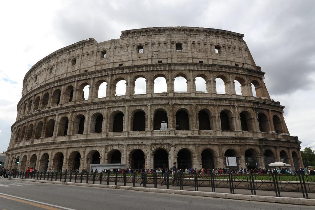 コロッセオとフォロ・ロマーノ Italy Roma イタリア ローマ 87日目
