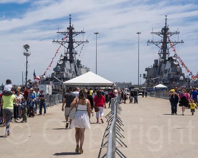 2015 Fleet Week New York Homeport Pier Staten Island Nyc