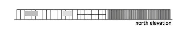 Photo:aat + Makoto Yokomizo - 富弘美術館 Tomihiro Art Museum - Drawings 04 - 北向立面圖 North Elevation By 準建築人手札網站 Forgemind ArchiMedia