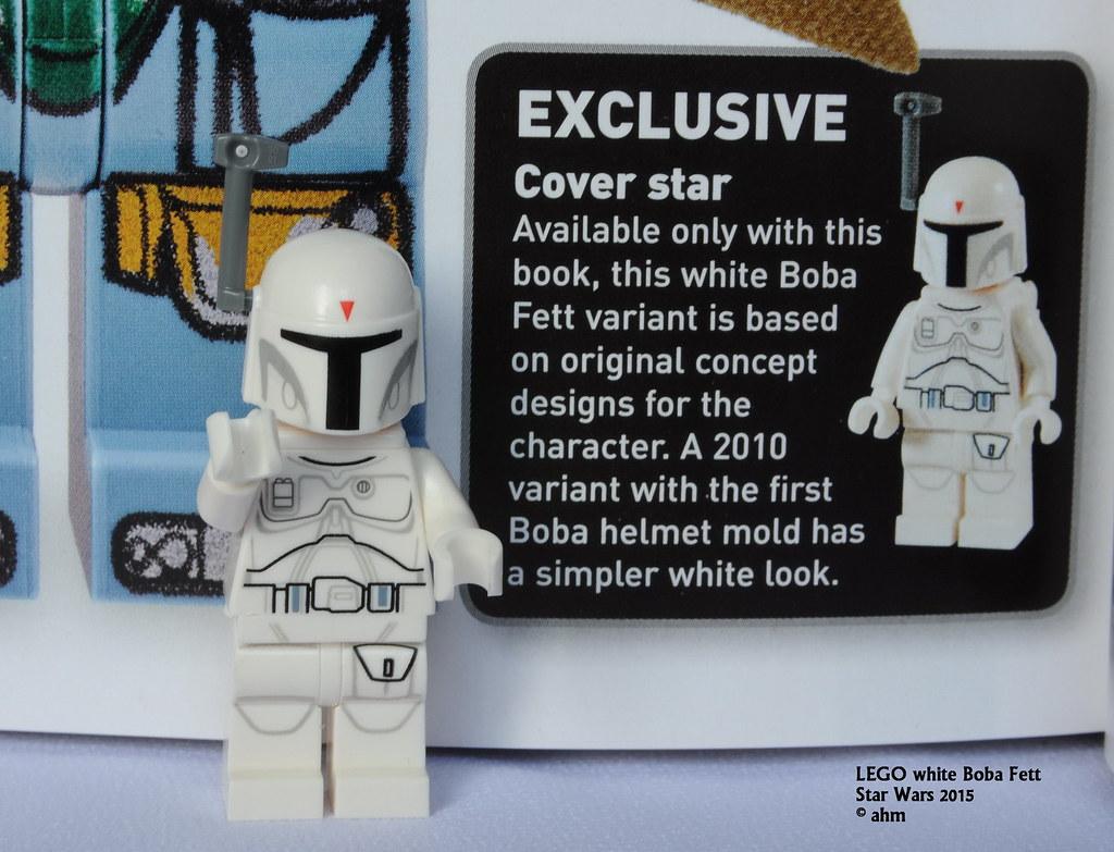 Star Wars Lego White Boba Fett Star Wars Lego White Boba F Flickr