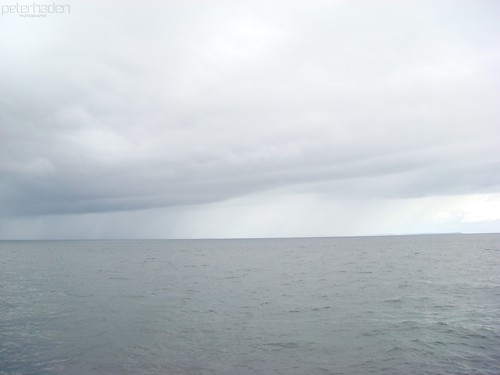 sky color water lines grey line environment