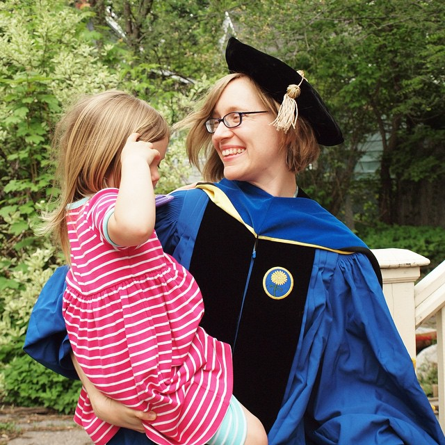 Me and my girl (finally got commencement-day photos off the DSLR)