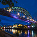 Tyne Bridge at Dusk by col_h2002
