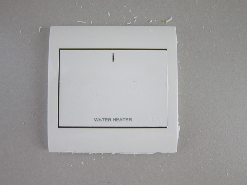 HDB Default Water Heater Switch
