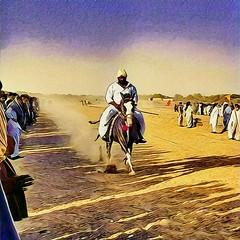 Horse Rider in sufi Festival