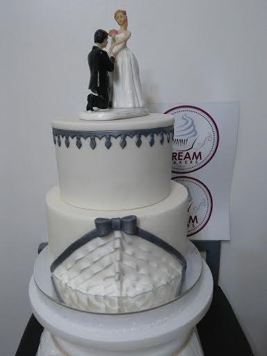 Jessica Harris Inspired Wedding Cake by Mheanne Romero-Cruz