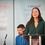 Sarah Howe | Two of the most powerful young voices in British poetry open the Book Festival 2016 © Alan McCredie