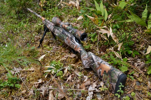 Tikka T3 Rifle Skin in Vista Camo