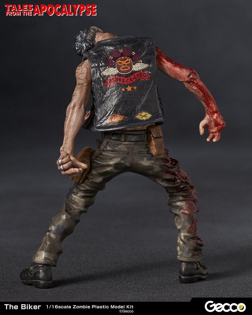 B級電影恐怖系列再臨!1/16 比例殭屍模型系列《地獄殭屍默示錄》Series No.06:飆車騎士