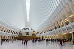 Nueva estación de tren de cercanías del WTC NY