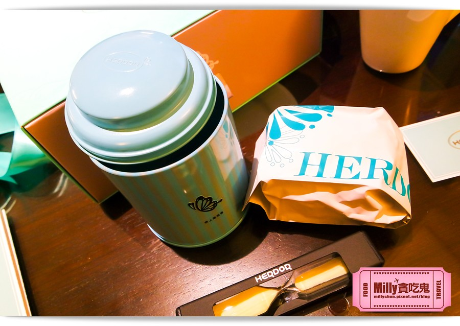HERDOR 花漾藍絲禮盒0017