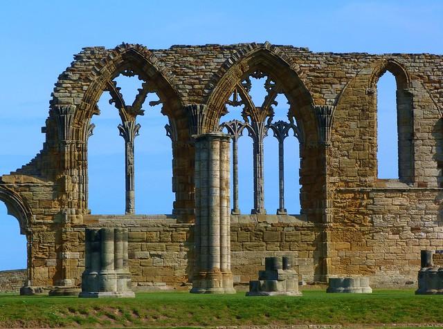 Whitby Abbey (Yorkshire, Inglaterra)