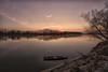 sulla scia di un tramonto