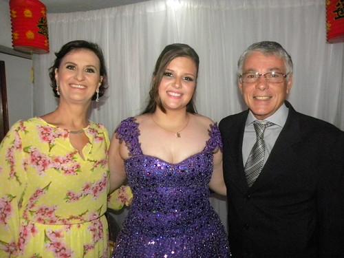 Rosaninha Escher com Marlene e Sérgio Furtado