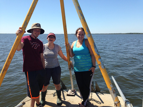 Volunteers from across the country worked with NRCS to map the soils beneath Barnegat Bay.