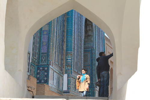 Shah-e Zinda, Samarkand, Uzbekistan