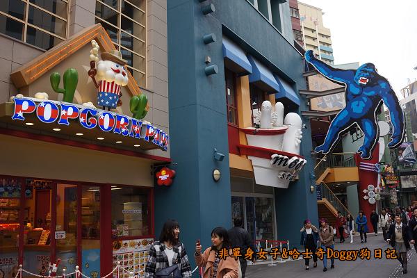 日本大阪環球影城哈利波特進擊的巨人02