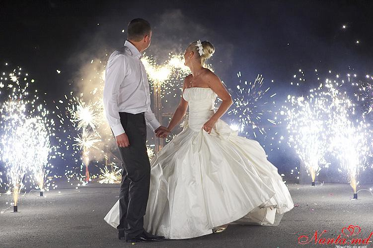 """""""BROCART"""" SRL - Focuri de artificii şi efecte speciale > Focuri de artificii pentru nunta ta din BROCART SRL"""