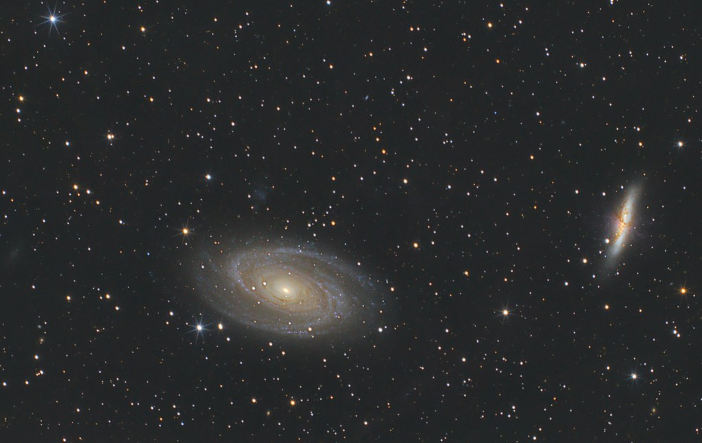 M81 and M82. Taken with Nikon D600