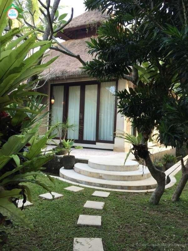 Downstairs villa