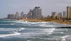 View of Tel Aviv from Jaffa (Yafo), Tel Aviv-Yafo, Israel